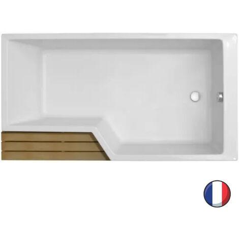 Baignoire bain-douche 160 x 90 droite NÉO Jacob Delafon