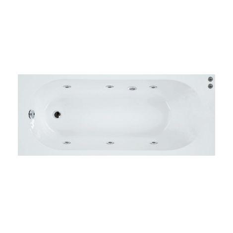Baignoire balnéo 160x75 Sanycces - Blanc