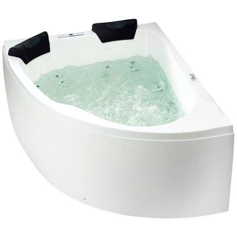 Baignoire balnéo Set Royal 1600 á gauche sans robinets