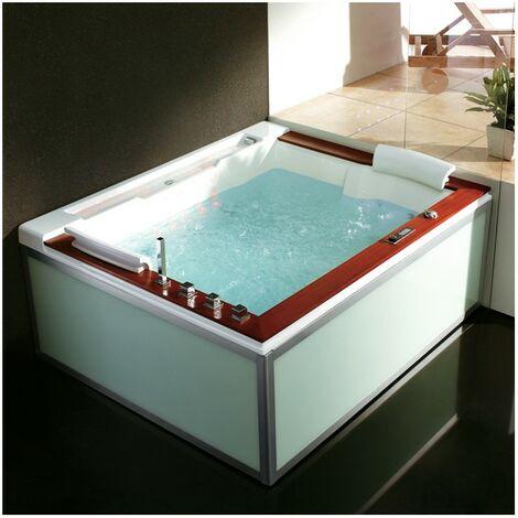 Baignoire Balneo Zeland® Zen'Spa Duo Droite 190x160