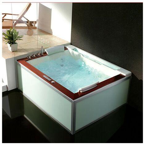 Baignoire Balneo Zeland® Zen'Spa Duo Gauche 190x160