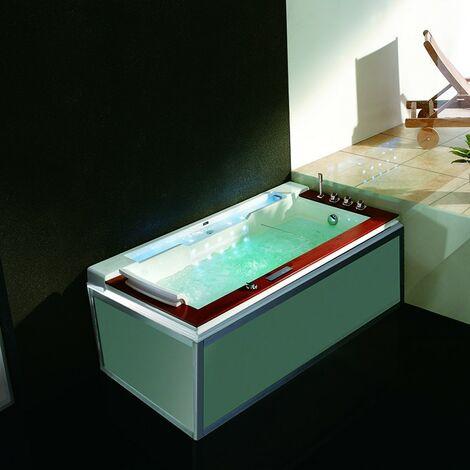 Baignoire Balneo Zeland® Zen'Spa Solo Droite 190x100