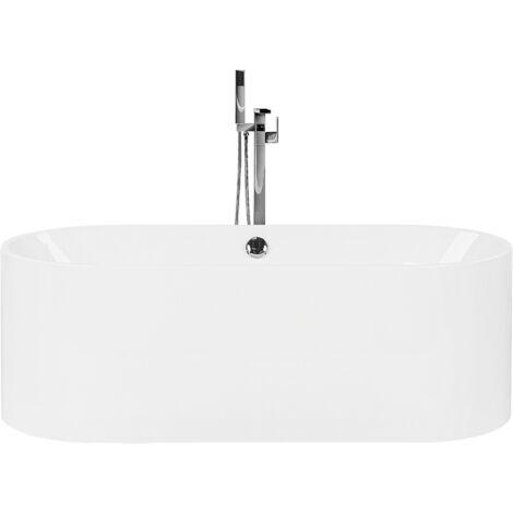 Baignoire centrale moderne en acryclique sanitaire blanc 180 litres