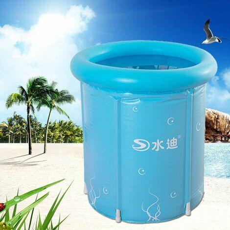 Baignoire de bain de la station thermique de la baignoire de bain chaude pliable gonflable en PVC