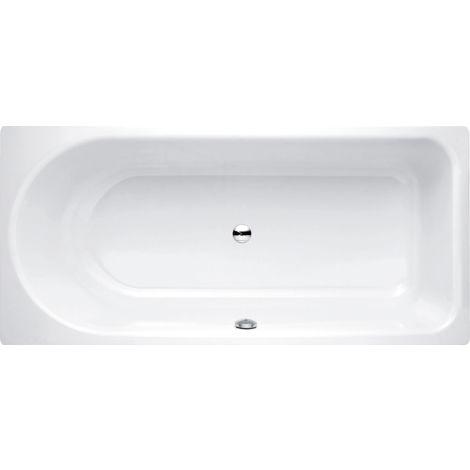 Baignoire de chevet Ocean 170x70 cm, 8853, débordement avant, blanc, Coloris: Blanc avec BetteGlasur Plus - 8853-000,Plus