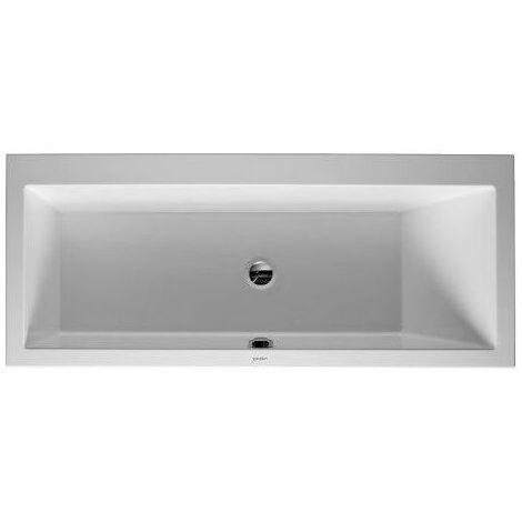 Novellini Baignoire Blanche Ovale Nue a encastrer en Acrylique Blanc 170 x 75 cm