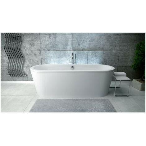 Baignoire îlot VIVOS II 160 x75x63 cm - Noir