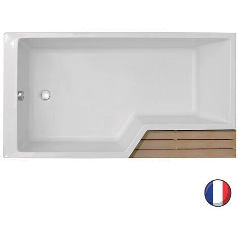 jacob delafon baignoire douche neo version droite ou. Black Bedroom Furniture Sets. Home Design Ideas