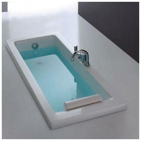 Baignoire rectangulaire 170x70 Blanc Sharm - CRISTINA ONDYNA COLBSR170