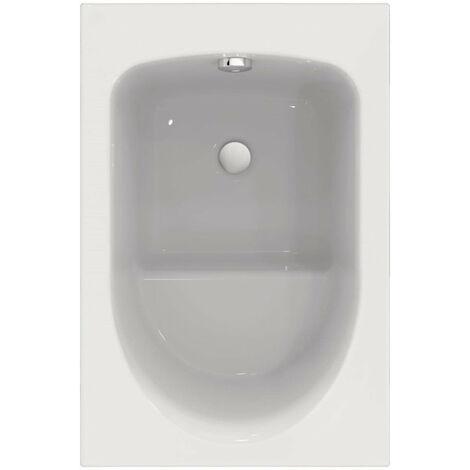 Baignoire rectangulaire ALTERNA VERSEAU 3 105 x 70 cm sabot acrylique blanc, Ref. R004501