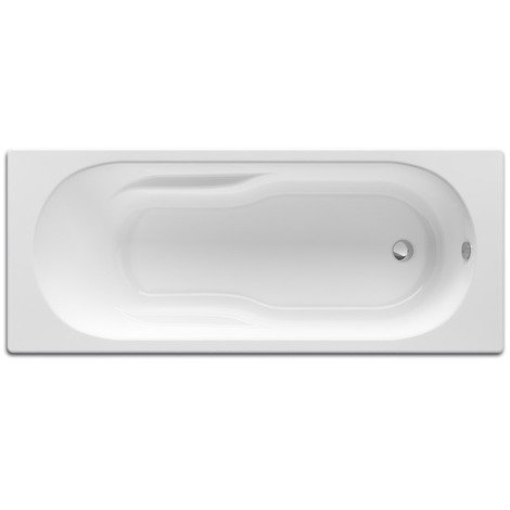 Baignoire rectangulaire avec pieds Neo-Genova 160x70 blanc