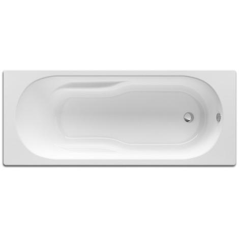 Baignoire rectangulaire avec pieds Neo-Genova 170x75 blanc