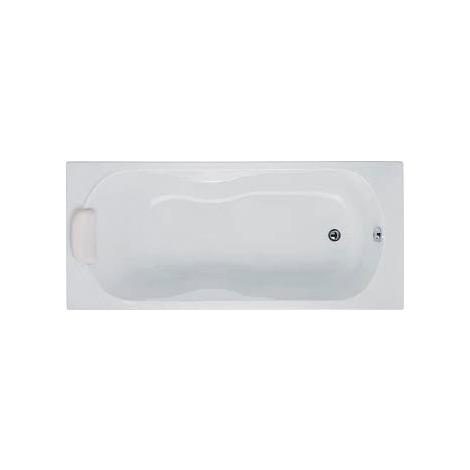 Baignoire rectangulaire en acrylique Polo 170 - Blanc