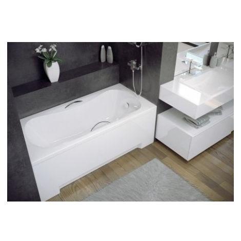 Baignoire VANESSA balnéo 130/140/150/160/170 X 70 cm - Dimensions: 160cm