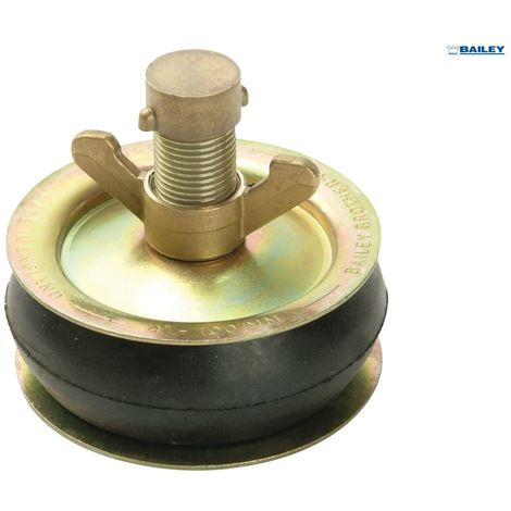BAILEY 2570 DRAIN TEST PLUG 15IN C/W BRASS CAP