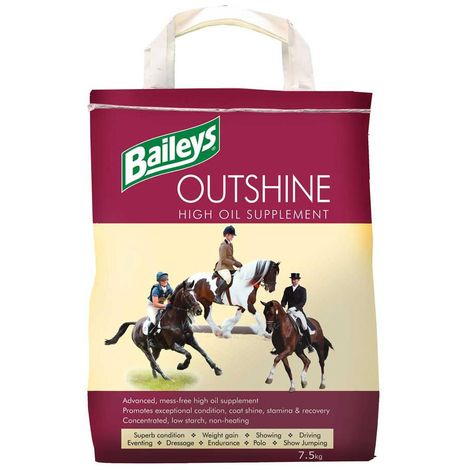 Baileys Outshine High Oil Horse Supplement (6.5kg) (May Vary)
