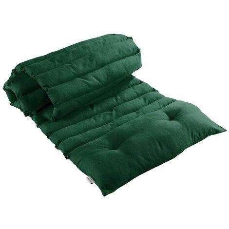 Bain de soleil en coton uni Vert 60 x 180 cm - Vert
