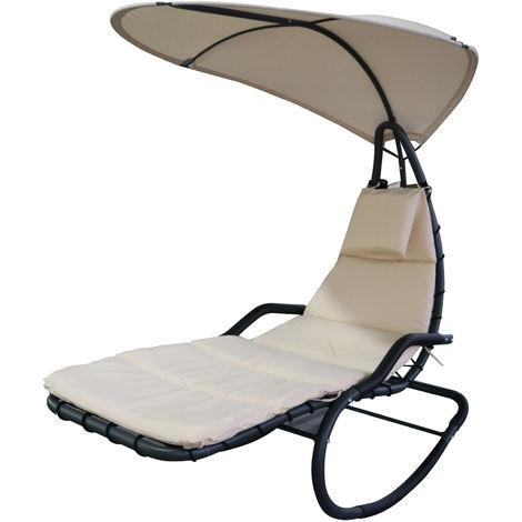 bain de soleil transat bascule design contemporain avec. Black Bedroom Furniture Sets. Home Design Ideas