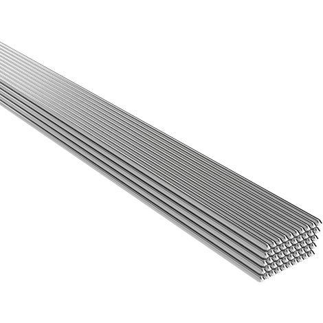 Baja temperatura de soldadura de aluminio puro alambre tubular de soldadura Vara No hay necesidad de soldadura en polvo, 500 * 2 mm, 50PCS