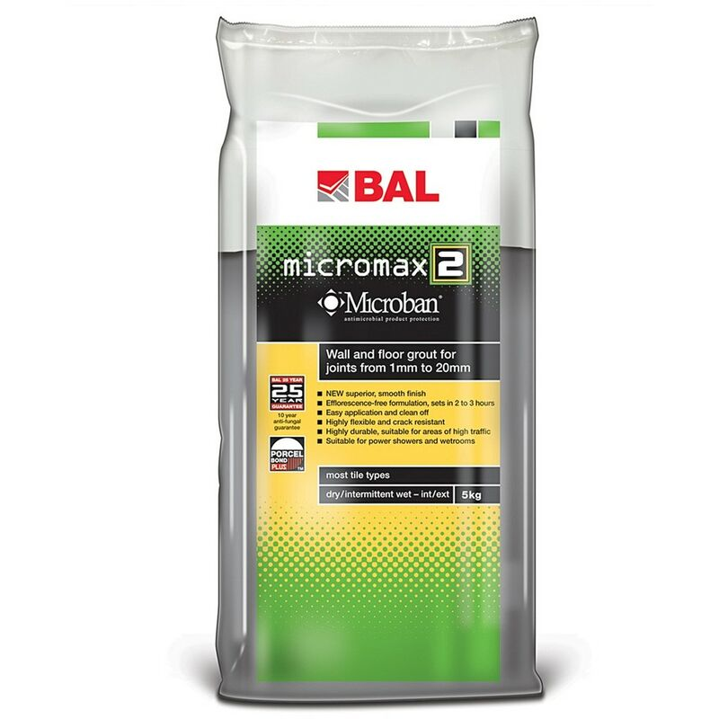 Image of Micromax2 Grout for Walls & Floors- Jasmine 5kg - size - color Jasmine - BAL
