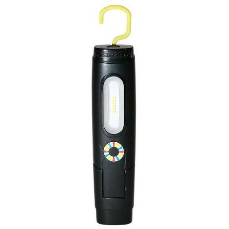 Baladeuse et torche rechargeable 250 lumens noir ELWIS