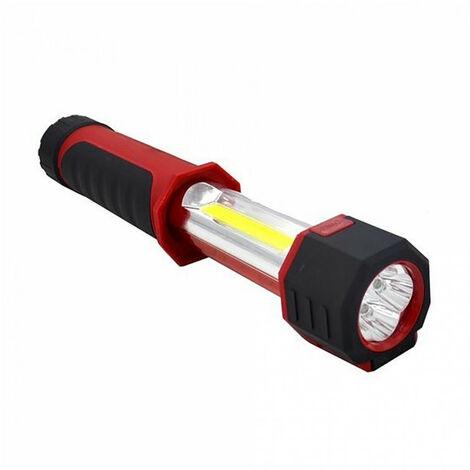 Baladeuse / Lampe torche télescopique 4/8 Led