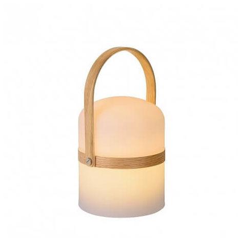 Baladeuse LED Joe IP44 H26 cm - Blanc - Blanc