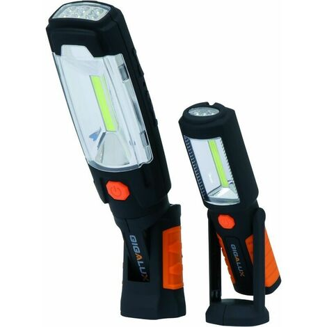 Baladeuses LED rechargeables (lot de 2) Gigalux