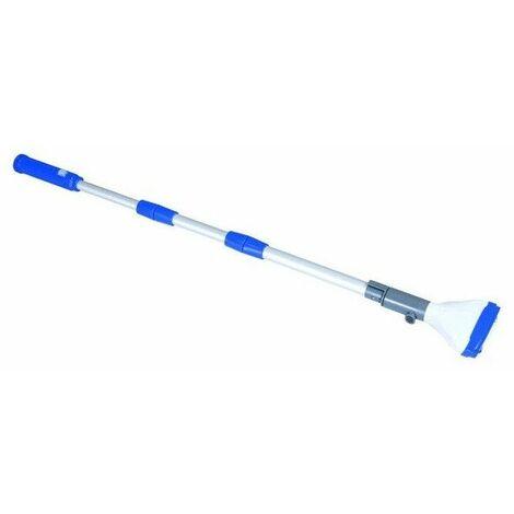 Balai aspirateur aquascan - 150 cm - Blanc - Livraison gratuite