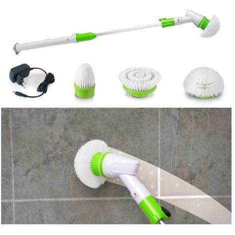 Balai brosse de nettoyage à tête rotative Quick'Lean