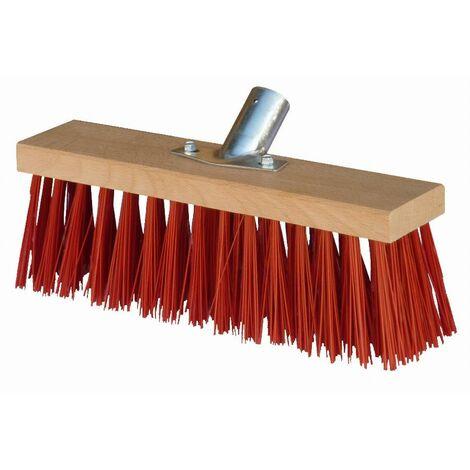 Balai cantonnier 31 cm PVC rouge MERCIER - 840
