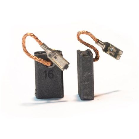 2x Balais Charbon Moteur Charbon Pour Bosch GWS 14-125 CE 0 601 385 734 0 601 385 737