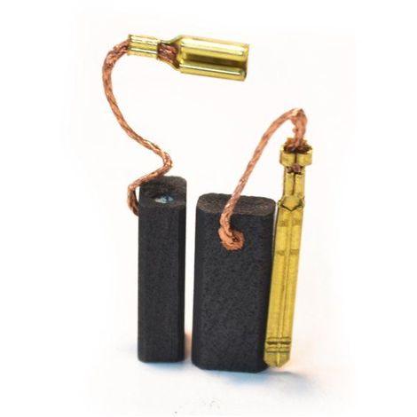 Balai Charbon Pour Meuleuses Et Ponceuses Skil 5 X 8 X 18 Mm