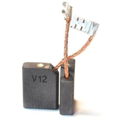 Balai Charbon Pour Meuleuses Skil 6,3 X 16 X 20 Mm - Avec Rupteur