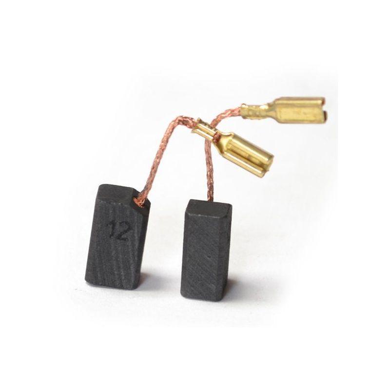 2272 Balais Charbon Moteur Charbon Black /& Decker remplace 914633-6 x 8 x 16,5 mm