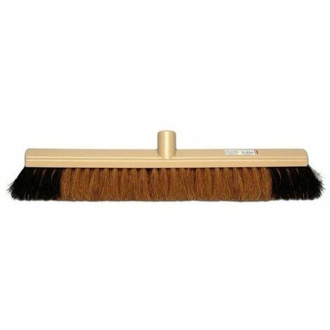 Balai industrie coco naturel renfort moustache long. 60 cms