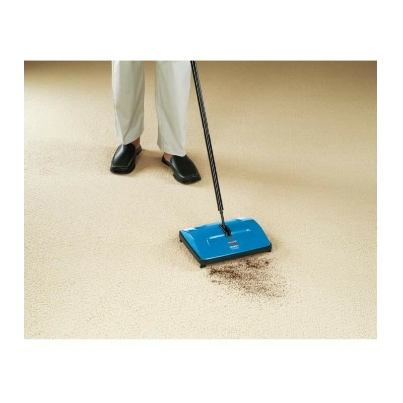 Bissell Balayeuse a pousser Sturdy Sweep Bleu 2402N