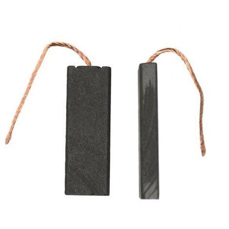balais de charbon 5.0x12.5x31mm ensemble. UE 2p