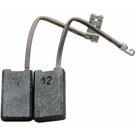 5x8x15mm Balais de Charbon pour AEG Ponceuse SB2-420