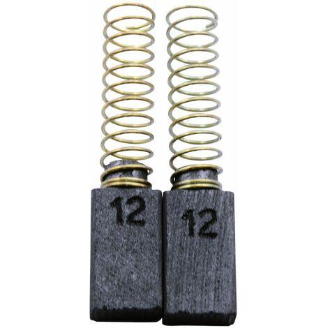 Balais de Charbon pour AEG Taille-Haies HS70 - 5x8x14mm