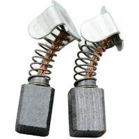 6,3x12,5x20mm Balais de Charbon pour Kress Scie 1800 KSE