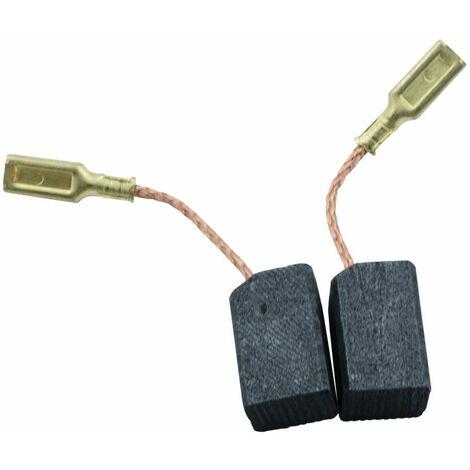 Balais de Charbon pour Black & Decker Mini Meuleuse Angulaire KG75