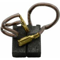 Balais de Charbon pour Black & Decker SR950RE - 6x8x18mm