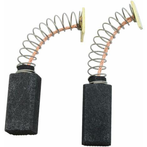 Balais de Charbon pour Black & Decker Tondeuse à gazon LUM - 6x8x16mm