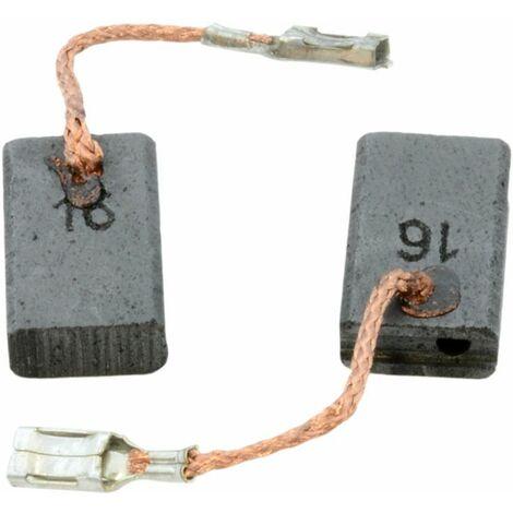 Balais de Charbon pour Bosch GWS 14-125 CI - 5x10x16mm