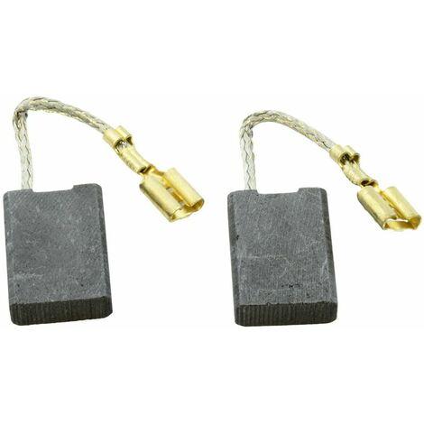 Balais de Charbon pour Bosch Meuleuse PWS 20-230 - 6,3x16x22mm