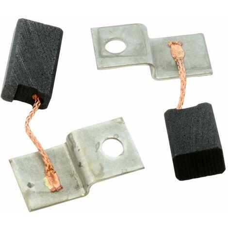Balais de Charbon pour Bosch UBH 6-35 - 6,3x10x17mm - Remplace 1.617.014.108