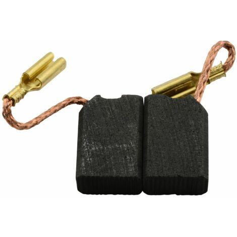 Balais de Charbon pour DeWalt Ponceuse D26453-6x7x13mm