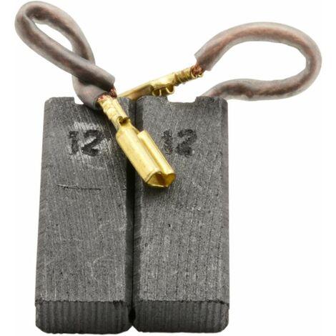 Balais de Charbon pour Hilti Marteau TE5-5x8x12mm Remplace 7556 /& 75561