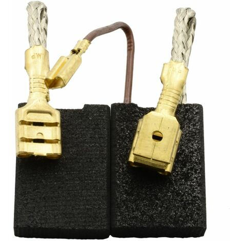Balais de Charbon pour Hilti Perceuse DD160 - 6,3x16x22mm - Remplace 208226